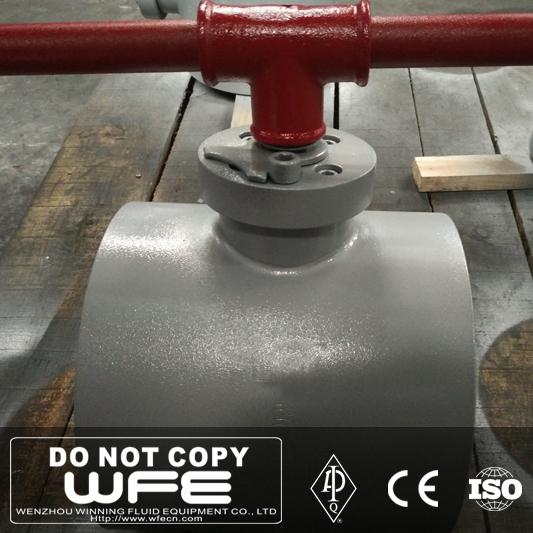 Wafer Type Carbon Steel Ball Valve