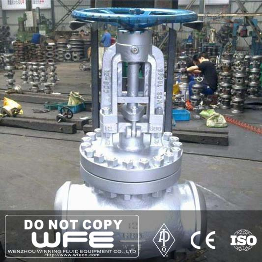 Winning Fluid Butt Welded Globe Valve