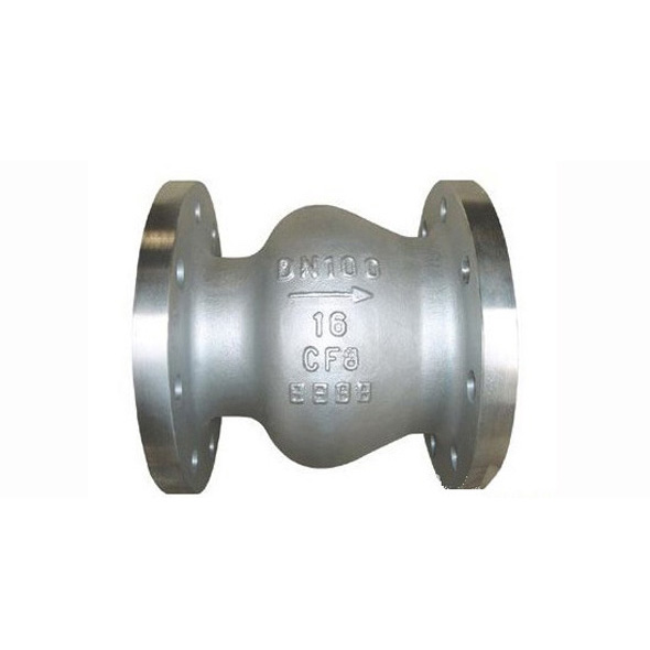 Stainless Steel Axial Flow Check Valve