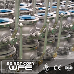 API WCB Floating Ball Valve