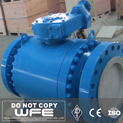 3 Pieces Trunnion Mounted Ball Valve