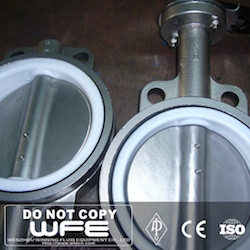 Lugged Triple Eccentric butterfly valve