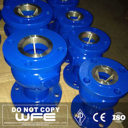 Flanged Axial Flow Check Valve