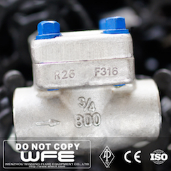 F316 Forged Steel Check Valve