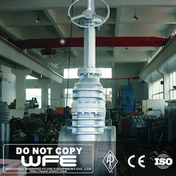 Large Size Cast Steel Gate Valve
