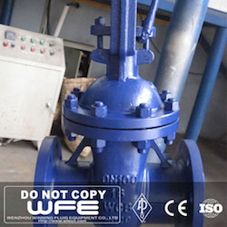 DIN Flanged Gate Valve