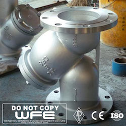 Stainless Steel CF8 Strainer