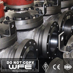 Gear Operate Flange Top Entry Ball Valve