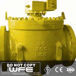 LCB Flanged Top Entry Ball Valve