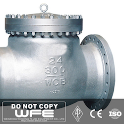 24 inch Flanged Check Valve