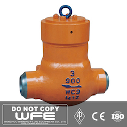 WC9 Pressure Seal Check Valve