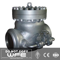 Swing Check Valve With Bypass Valve