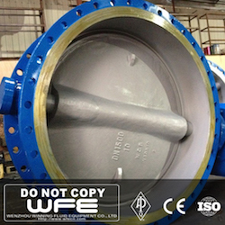 DN1500 Triple Eccentric butterfly valve