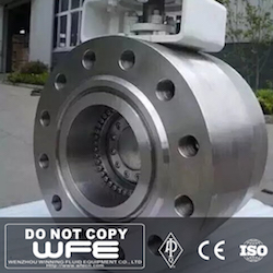 High Pressure Stainless Steel Butterfly Valve