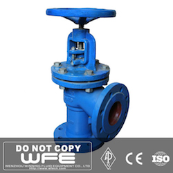 Carbon Steel Angle Bellows Sealed Globe Valve
