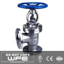 Stainless Steel Angle Bellows Sealed Globe Valve