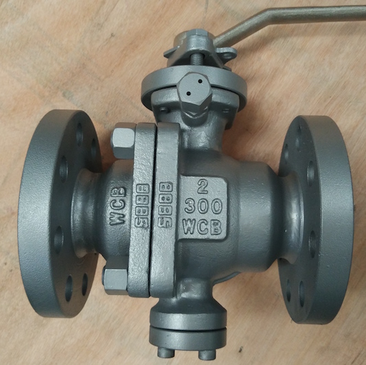 API WCB Cast Steel Ball Valve