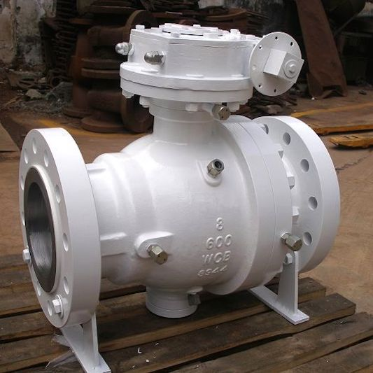 API WCB Flanged Ball Valve