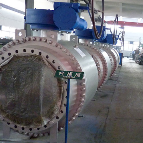 Big Size Flange Trunnion Mounted Ball Valve