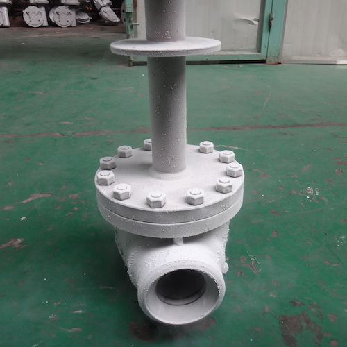 API Butt Welded Cryogenic Ball Valve