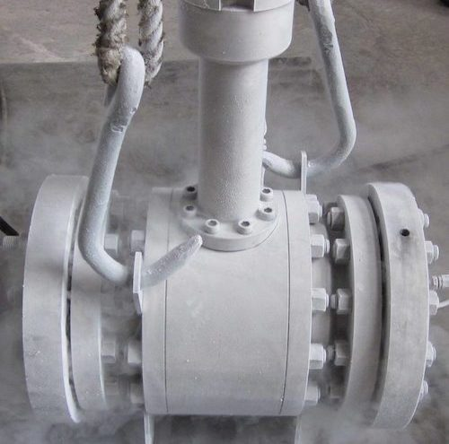 API Flanged Cryogenic Ball Valve