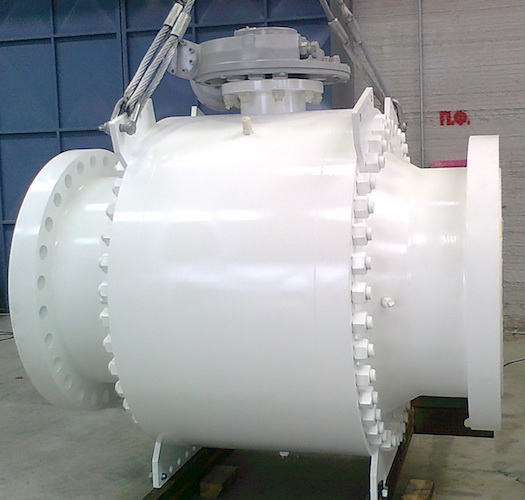 API WCB Fully Welded Ball Valve