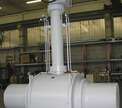 Long Stem Fully Welded Ball Valve