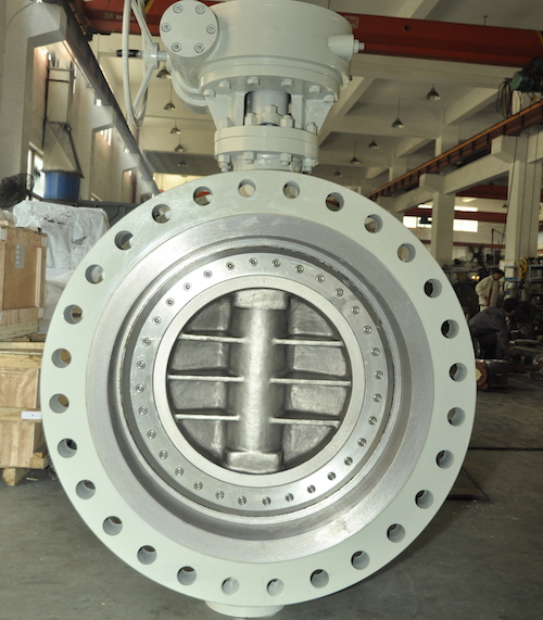 Worm Gear Double Eccentric Butterfly Valve