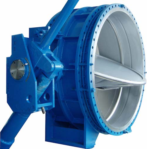 Large Diameter Triple Eccentric butterfly valve