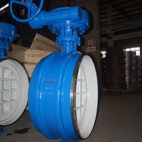DN300 Butt Welded Butterfly Valve