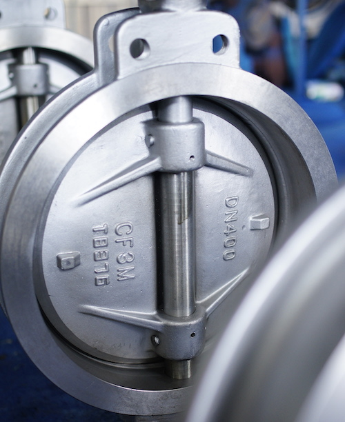 Stainless Steel Double Eccentric butterfly valve