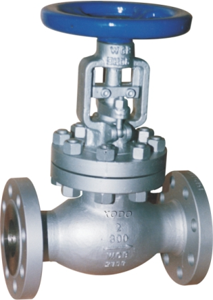 API Stainless Steeled Bellows Seal Globe Valve