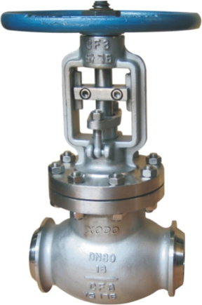 API Butt Welded Bellows Sealed Globe Valve
