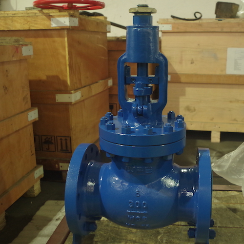 API Carbon Steel Bellows Sealed Globe Valve