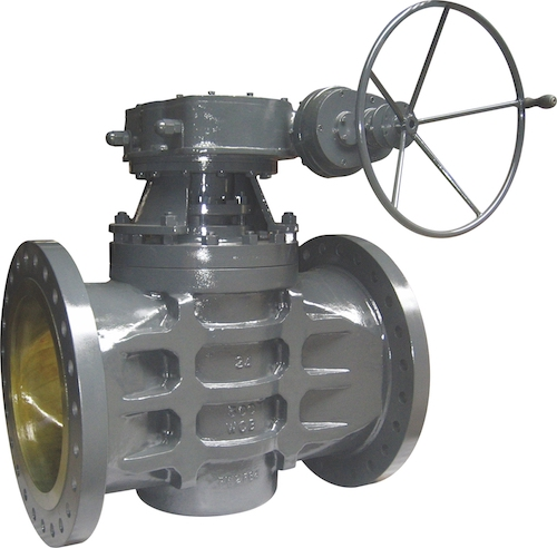 Gear Operate Sleeve Type Soft Sealing Plug Valve