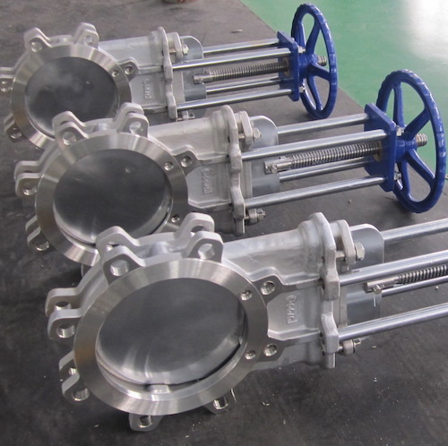 DIN Knife Gate Valve