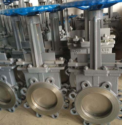Extend Stem Knife Gate Valve